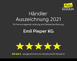 Auszeichnung Firma Pieper