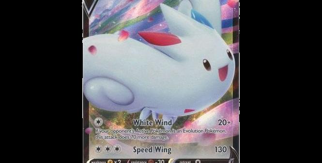 Pokémon Vivid Voltage 140/185 Togekiss V (Half Art)