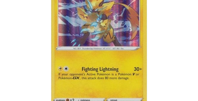Pokémon Vivid Voltage 061/185 Zeraora (Holo)