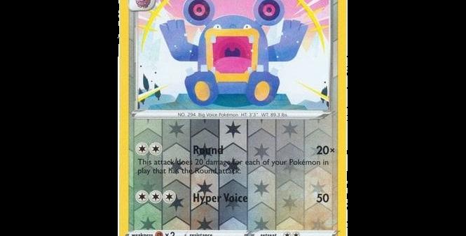 Pokémon Vivid Voltage 136/185 Loudred (Reverse Holo)
