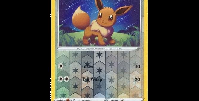 Pokémon Vivid Voltage 130/185 Eevee (Reverse Holo)