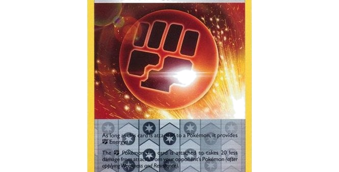 Pokémon Vivid Voltage 164/185 Stone F Energy (Reverse Holo)