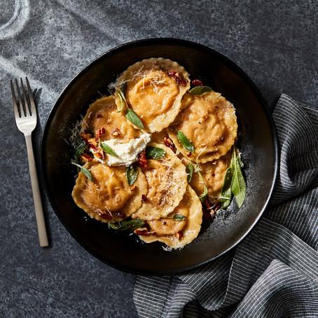 Pumpkin Sage Ravioli