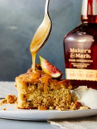 Fig Toffee Bourbon Cake