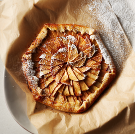 Rustic French Rose Galette