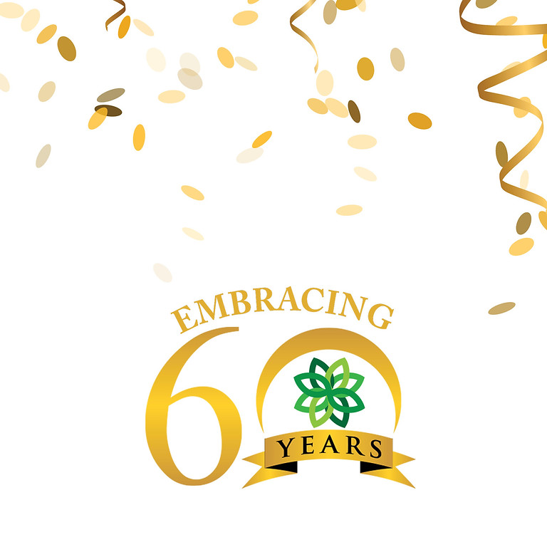 Celebrating 60 Years (Tickets paid via check or cash)