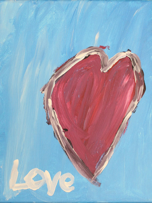 Love Painting on canvas