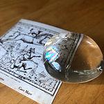 マダガスカル産の水晶。_手のひらサイズの石ってすき。___#ねじまき屋 #再開準