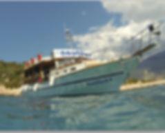 nautilus dive boat dive boats turkey dive boat kas kaş