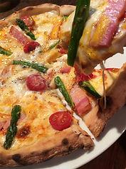 十一屋のピザ