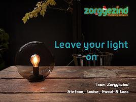 Kerst 2020_leave your light on_kerst log