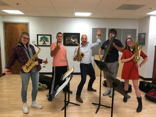 Shepherd University Saxophone Quartet