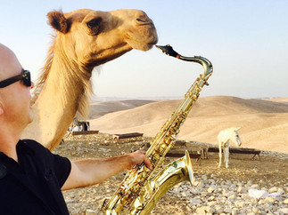 Saxophone and Camels
