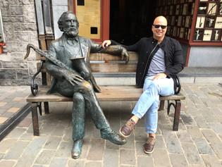 Adolphe Sax in Dinant, Belgium
