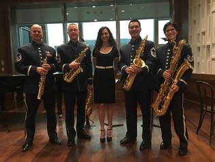 USAF Saxophone Quartet: Museum of American History