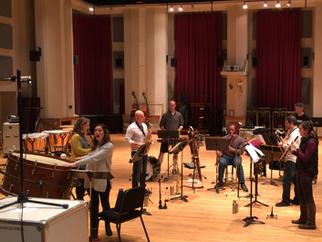 Akiho recording session