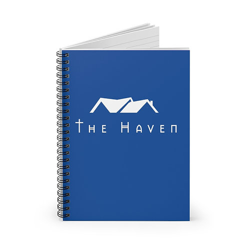 """The Haven"" Spiral Notebook - Ruled Line"
