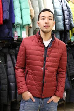 Мужская куртка, Астана