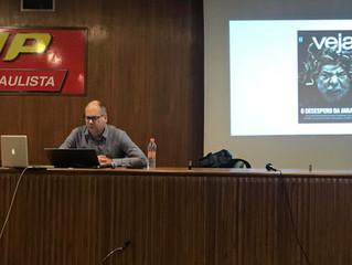 Alberto Klein faz palestra para o Grupo Mídia e Imaginário