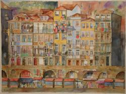 Ribeirinha do Porto, 63x47,5cm