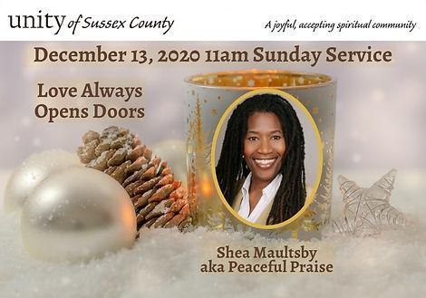 2020-12-13_UoSC Sunday Service_Love Alwa