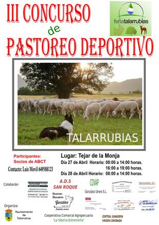III Concurso de Pastoreo Deportivo.