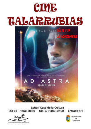 Cine: Ad Astra.