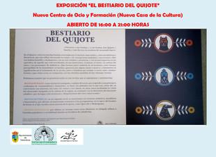 Exposición 'El Bestiario del Quijote'.