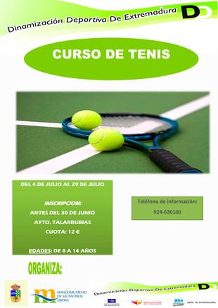 Curso de Tenis.