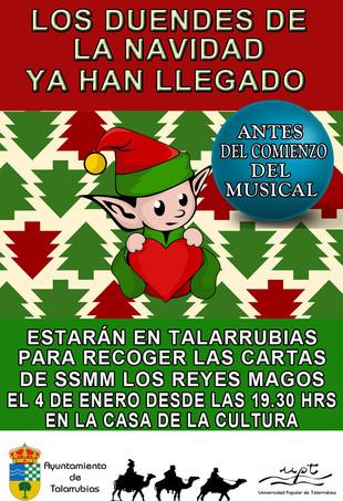 Los duendes de la Navidad ya están en Talarrubias.