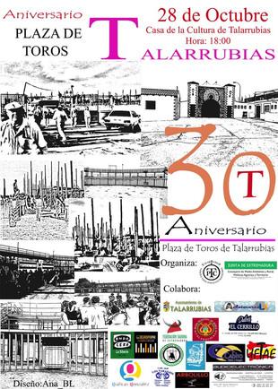30 Aniversario de la plaza de toros de Talarrubias.