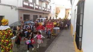 Galería fotográfica pasacalles infantil Carnaval 2019.
