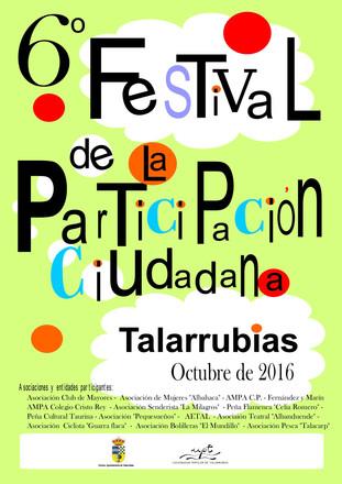 6º Festival de la Participación Ciudadana.