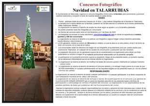 Concurso fotográfico: Navidad en Talarrubias.