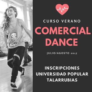Curso de verano Comercial Dance.