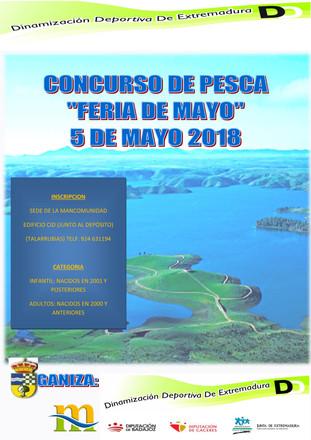 Concurso de pesca 'Feria de Mayo 2018'.