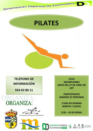 Pilates y Aquagym.