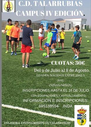 IV Edición campus CD Talarrubias.