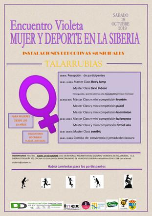 Encuentro Violeta: Mujer y deporte en la Siberia.