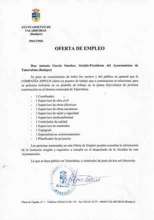 Oferta de empleo: 11 puestos a cubrir en la compañía APPLUS.