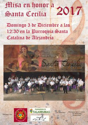 Misa en honor a Santa Cecilia