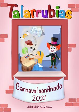 Cartel ganador para este carnaval 2021. Enhorabuena a la ganadora: AZUCENA LEDESMA GÓMEZ.