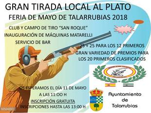 Tirada al plato 'Feria de Mayo 2018'.