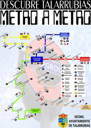 'Descubre Talarrubias. Metro a Metro'
