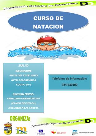 Curso de natación.