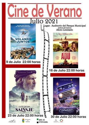 CINE DE VERANO.