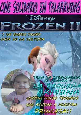 Cine solidario: 'Frozen II'.