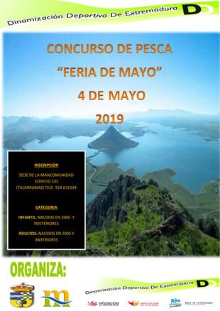 Concurso de pesca 'Feria de Mayo'.
