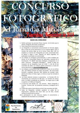 Concurso de fotografía 'XI Jornadas Micológicas'.