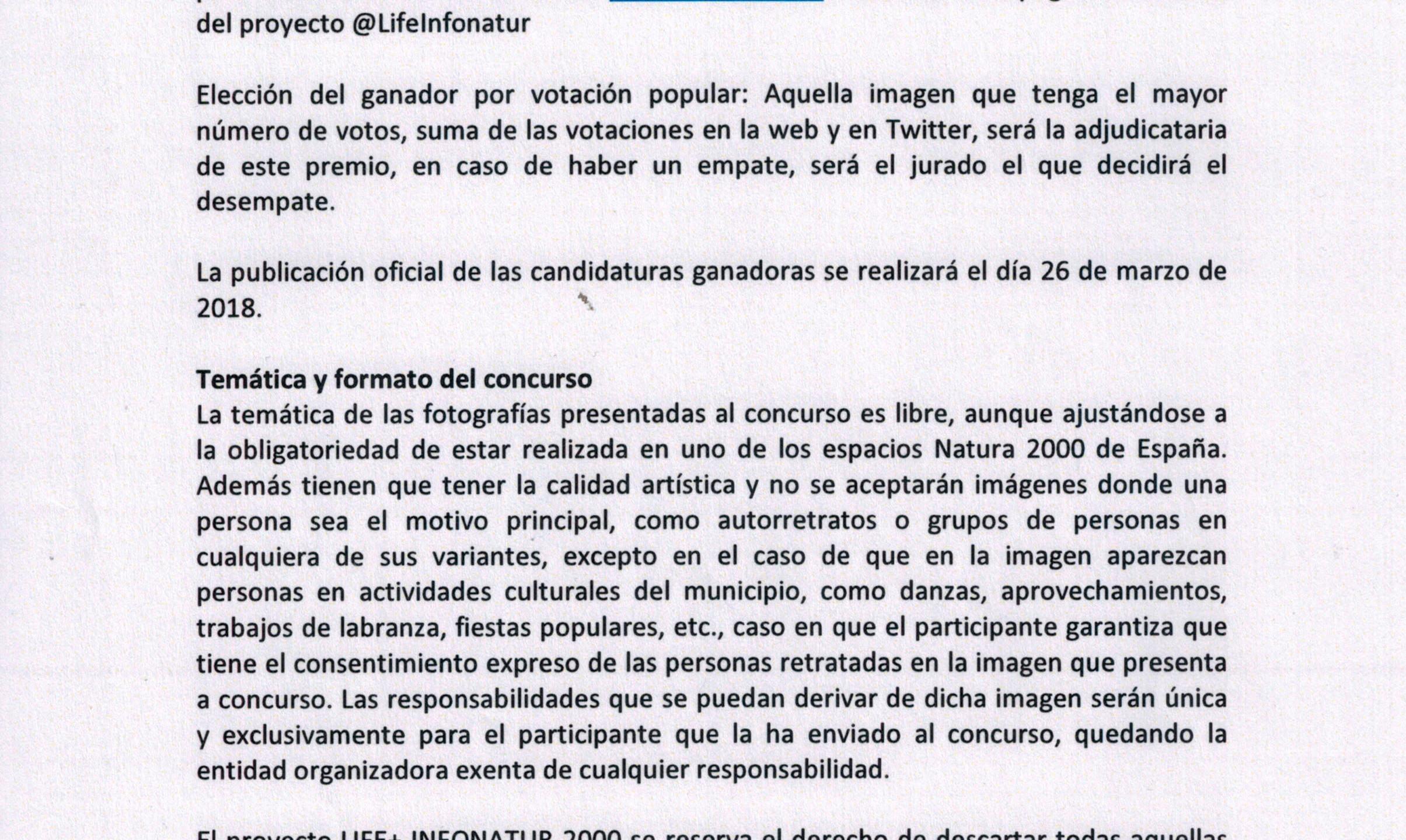 CONCURSO RED NATURA 2000-2